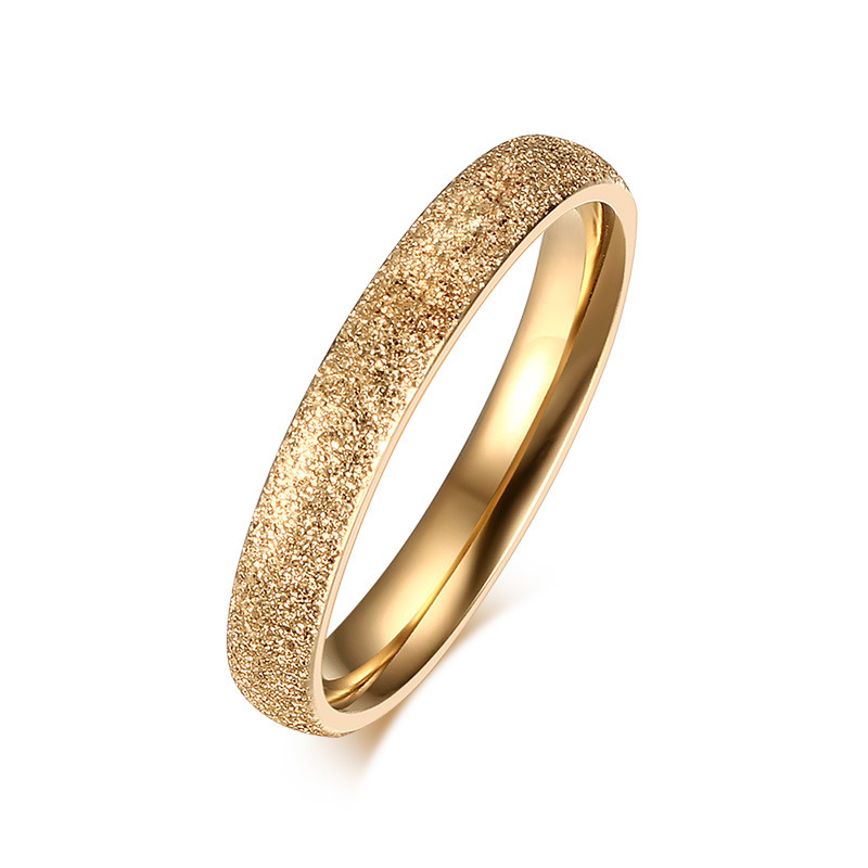 sandblast finish ring