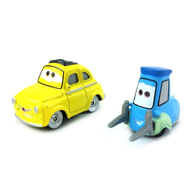 Disney Pixar Cars 3 Luigi Guido Metal Diecast Toy Car 1 55 Loose