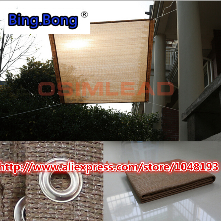 Sun shading net 1 8m square flower gardening sun shade cloth room sun shade meat anti uv sun shading net tents for roof of cars in Shade Sails Nets from Home Garden