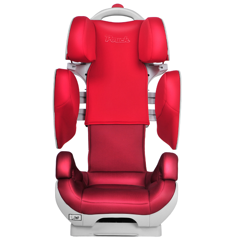 Pouch High Quality Child Car Seat With ISOFIX, Toddler Auto Chair , Thicken Sponge Baby Car Seats for 3-12 Years Old Kids