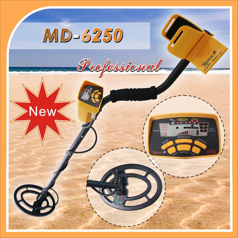 Factory Professional New Gold Metal Detector MD6250 Treasure Finder Metal Detector Factory Gold Detector MD-6250