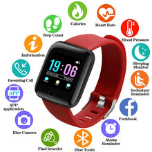 Smart Watch Men Color Screen Blood Pressure Waterproof Smartwatch Women Heart Rate Monitor Fitness Watch Sports For Android IOS(China)