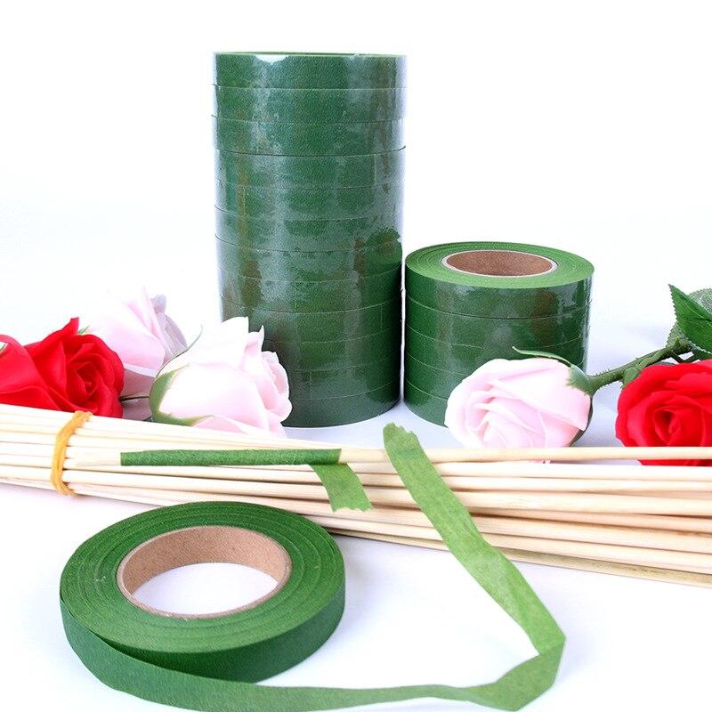 Artificial Flower Wrap Corsages Buttonhole Florist Floral Stem Tape ~