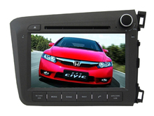 For  2012 HONDA CIVIC RIGHT car dvd player MTKAC8227 Quad-Core android 7.1  gps wifi map camera 1024*600lcd