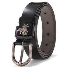 Women Leather Belt NEW Belt For Women Genuine Cowhide Leather Belt With Alloy Buckle width:2.8cm,95 110cm Leather Belt Women