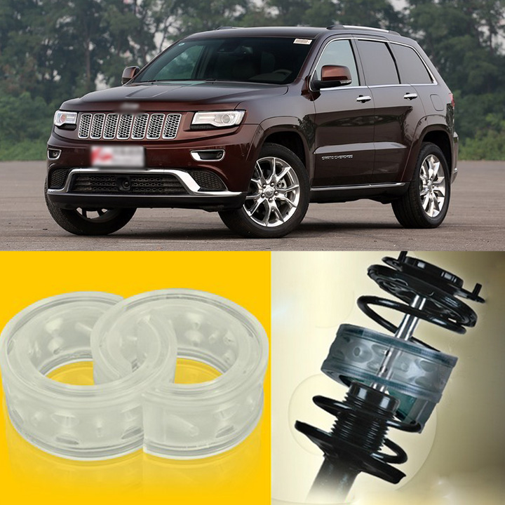 2pcs Power Front /Rear Shock Suspension Cushion Buffer Spring Bumper For Jeep Grand Cherokee  high quality front rear car auto shock absorber spring bumper power cushion buffer for honda cr v