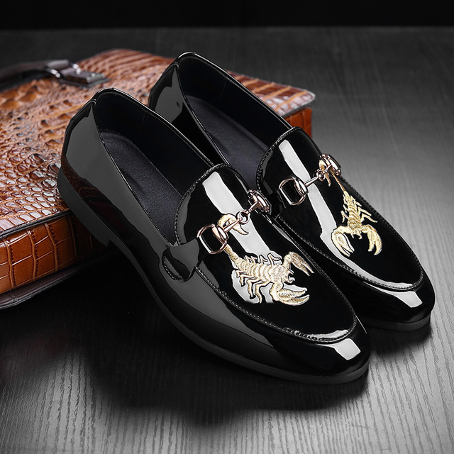 2eb96fe61 Men Casual Shoes Pu Leather Slip On Penny Loafers Men Casual Shoes High Top  Boat Shoes
