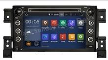 ROM 16G 1024*600 Quad Core Android 5.1.1 Fit SUZUKI GRAND VITARA 2005 – 2012 2013 2014 2015 Car DVD Player Navigation GPS Radio