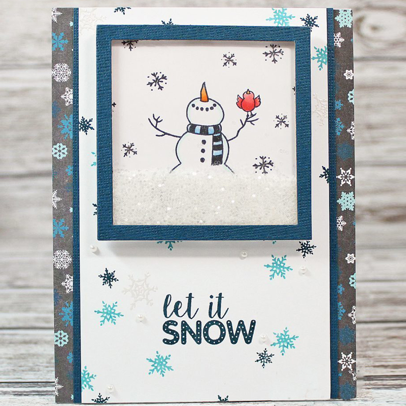 Christmas Snowman Words Transparent Stamp Clear Stamps For Diy