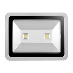 LED światło halogenowe 200W 16000LM IP65 AC 85-265V projektor reflet reflektor Led Projecteur Exterieur Spotlight oświetlenie zewnętrzne