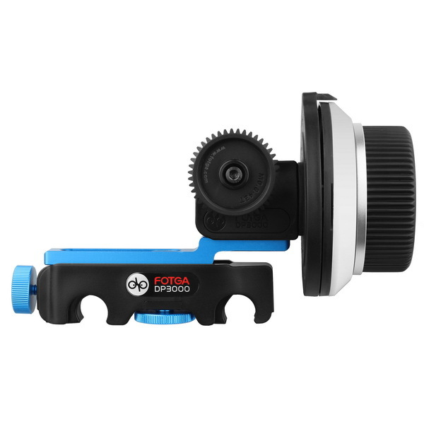 FOTGA DP3000 QR Quick Release Follow Focus Support 15mm rod for BMCC FS700 C300 DSLR HDSLR HDV