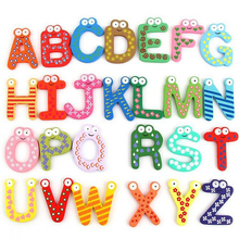 Wooden Digital Letter Fridge Magnets Children's Early Learning Educational Maths Toy Wooden Refrigerator fridge magnet stick B