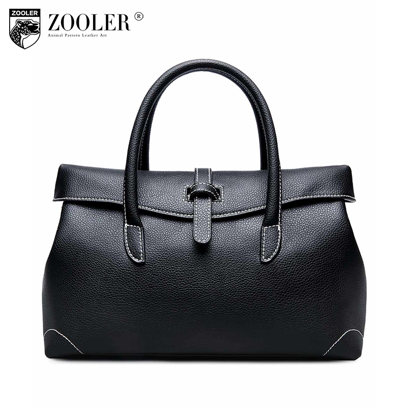ZOOLER brand Genuine leather bags handbags women famous brands women bag  2018 real leather handbag shoulder bag for lady  6120 dba176c2551c4
