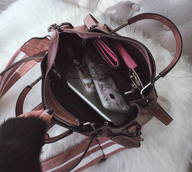 New European and American style vintage PU women handbag shoulder bag messenger bag 100