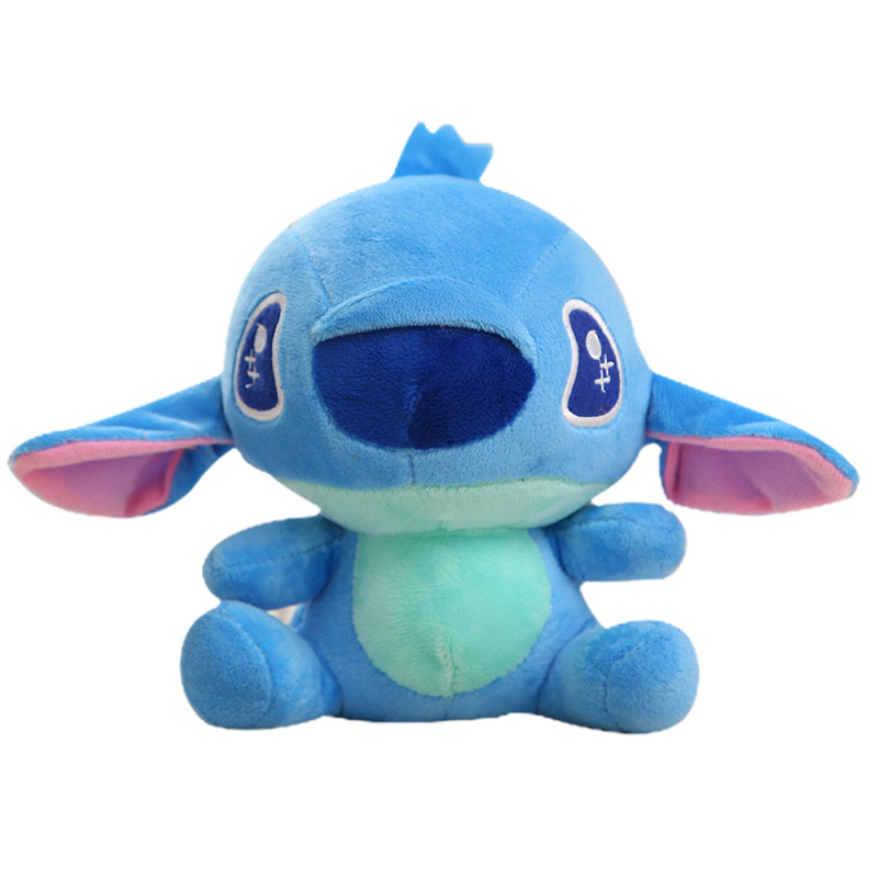 Disney Stuffed Animals Plush Mickey Mouse Minnie Winnie the Pooh Doll Lilo and Stitch Piglet Keychain Birthday Gift Kid Girl Toy in Stuffed Plush Animals from Toys Hobbies