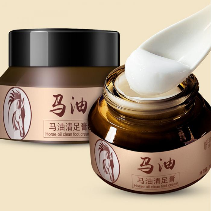 18 Horse Oil Feet Cream for Athlete Feet Itch Blisters Anti-chapping Peeling Antibacterial Ointment 8