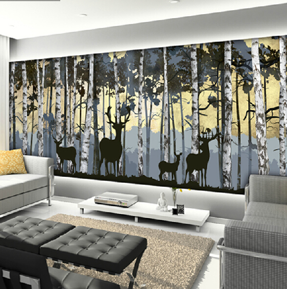 Wall Covering Picture More Detailed Picture About Large - Living room wallpaper 2015