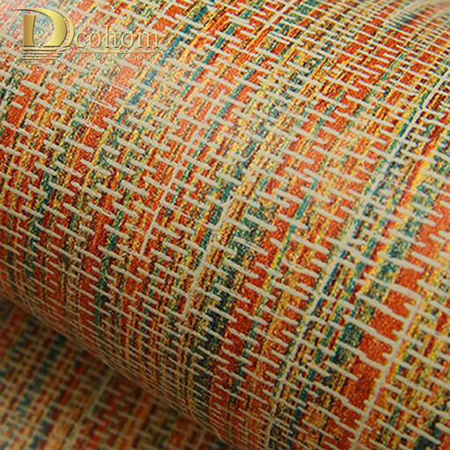 Natur Plain Grun Braun Bambus Stroh Strukturierte Tapete Rolle Fur