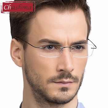 Titanium Eyewear armacao para oculos de grau Frameless Titanium Alloy Eye Glasses Frame Optical Glasses Frames for Women and Men - DISCOUNT ITEM  16% OFF All Category