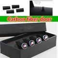 Real Carbon fiber 4pcs car door pin for BMW F30 F20 F10 F15 F13 M3 M5 M6 X1 X3 X5 X6