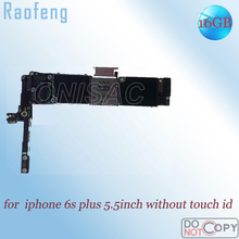 Raofeng 32 Гб без сенсорного ID материнская плата для Iphone 6s plus материнская плата 5,5 дюймов версия функция хорошо разблокирована с логической платой
