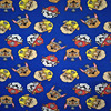 165X100cmBlue Background PAW Patrol Knitted Cotton Fabric For Baby Clothes Dress Sewing Patchwork DIY AFCK186