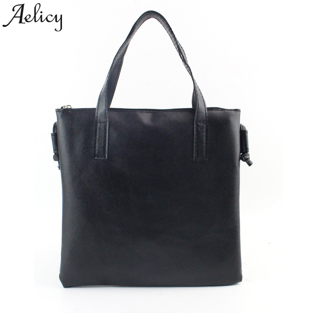 Aelicy Women Fashion Handbag Shoulder Bag Large Capacity Casual Totes Ladies Crossbody Soft PU Leather Bags for Girl sac femme stylish patchwork plaid pu leather handbag women korean style fashion large shoulder bag ladies gorgeous simple crossbody bag