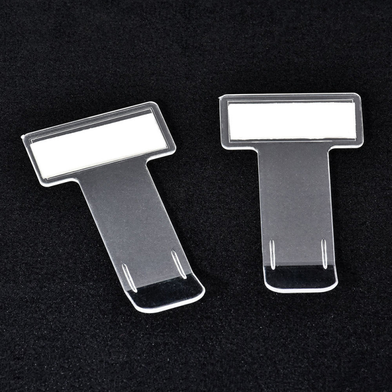 Window-Clip-Sticker Permit-Holder Auto-Fastener-Clips Windscreen Parking-Ticket 5pcs