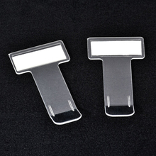 5pcs Car Vehicle Parking Ticket Permit Holder 75 x 40mm Windscreen Window Clip Sticker for Auto Fastener Clips
