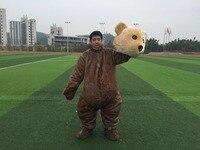 Бесплатная доставка Высокое качество Маша и Медведь Медведица гризли Маскоты костюм персонажа из мультфильма