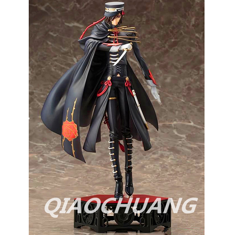 Code Geass R2 Lelouch Lamperouge Code Black 1st Live Encore ver. Non Scale Pre-Painted Action Figure Collectible Model Toy Boxed tt tf ths 02b hybrid style black ver convoy asia exclusive