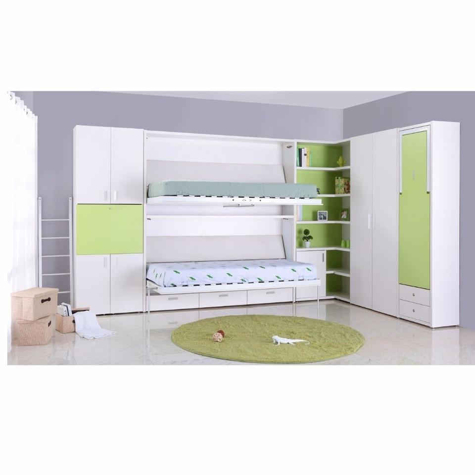 - TB0930 Customized Multifunctional Double Decker Hidden Wall Bed