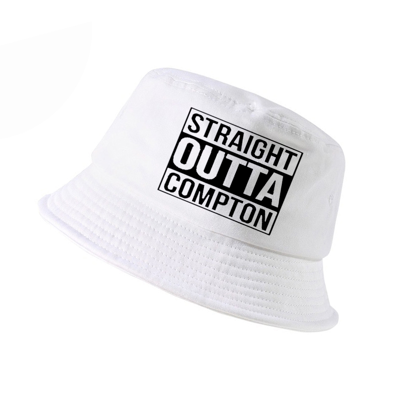 b612f0ed8ac Straight Outta Compton NWA California GOTHIC Eazy E NWA Dr. Dre hip hop  bucket hat Men women Cotton Summer panama fisherman hat