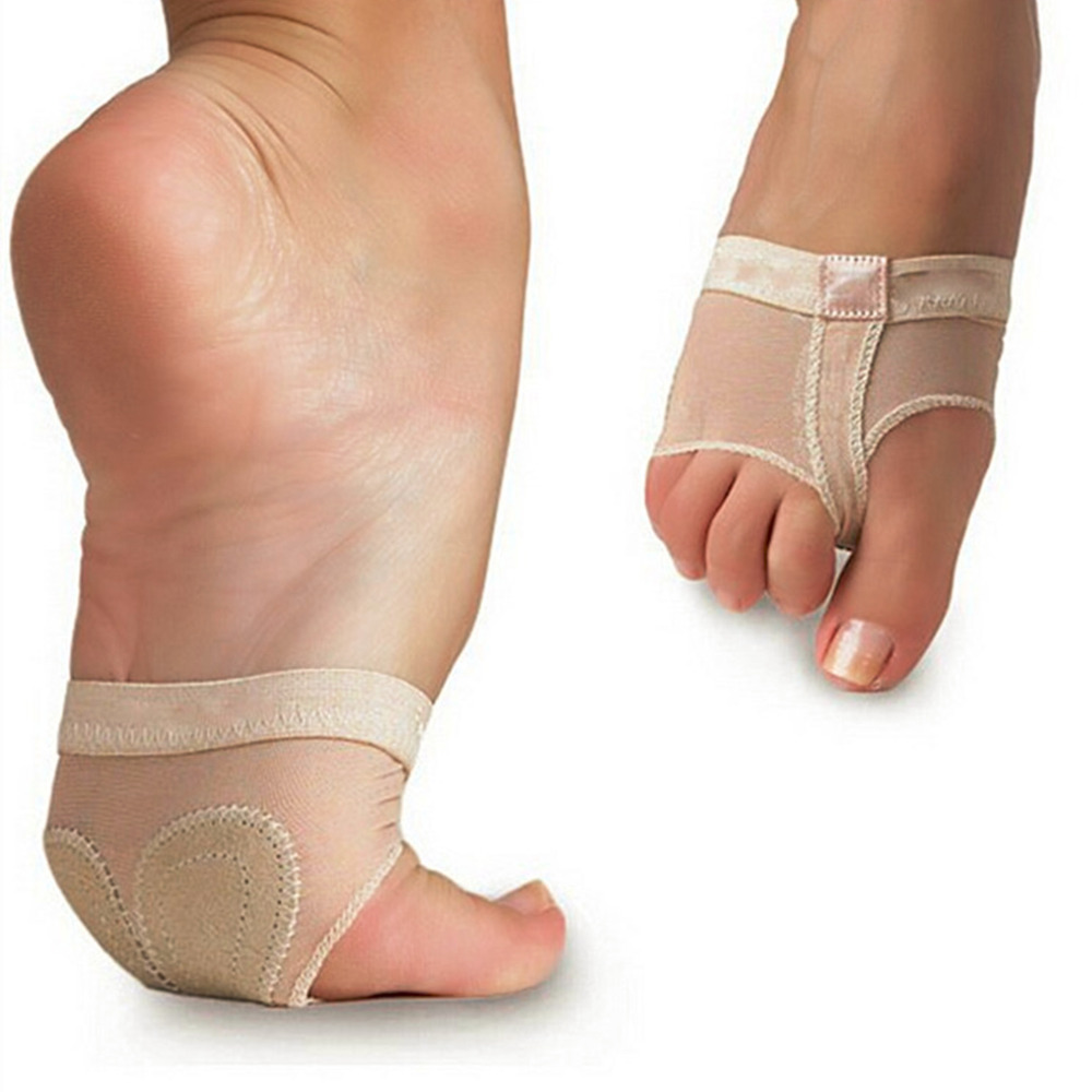 1 Pair 9.5cm*7cm <font><b>Ballet</b></font> Dance <font><b>Paws</b></font> Cover Foot Forefoot Toe Cushion Pad Half Protection drop shipping