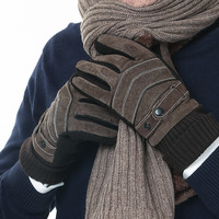 New Products for Elderly Men Gloves Winter Warm Skin Cold Proof and Thickened Outdoor Gloves