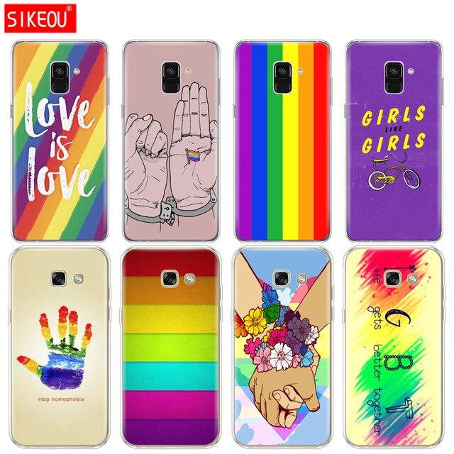 Silicone Phone Case Cover For Samsung Galaxy A6 A8 2018 A3 A310 A5