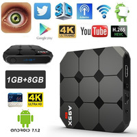 Newest A95X R2 Smart TV Box Android 7 1 1G 8G 2G 16G RK3288 Quad Core