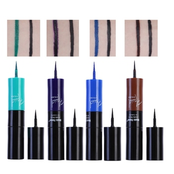 Double Head Shimmer Natural Long-lasting Liquid Eyeliner Easy To Wear Two Colors L9 Eyeliner