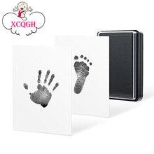 XCQGH детские руки и ноги печать масло ручной печати стол сувенир дети Новорожденные сто дней подарок безопасные чернила безопасный нетоксичный