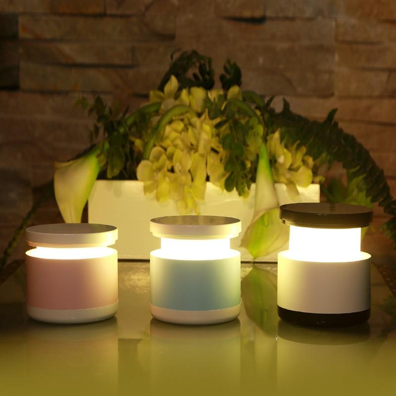 LED Атмосфера Огни Поворотный Переключатель USB Ночник Туалет Аккумуляторная Красочные Телескопические Лампы Подарок Домашний Декор Чтение Светодиодов