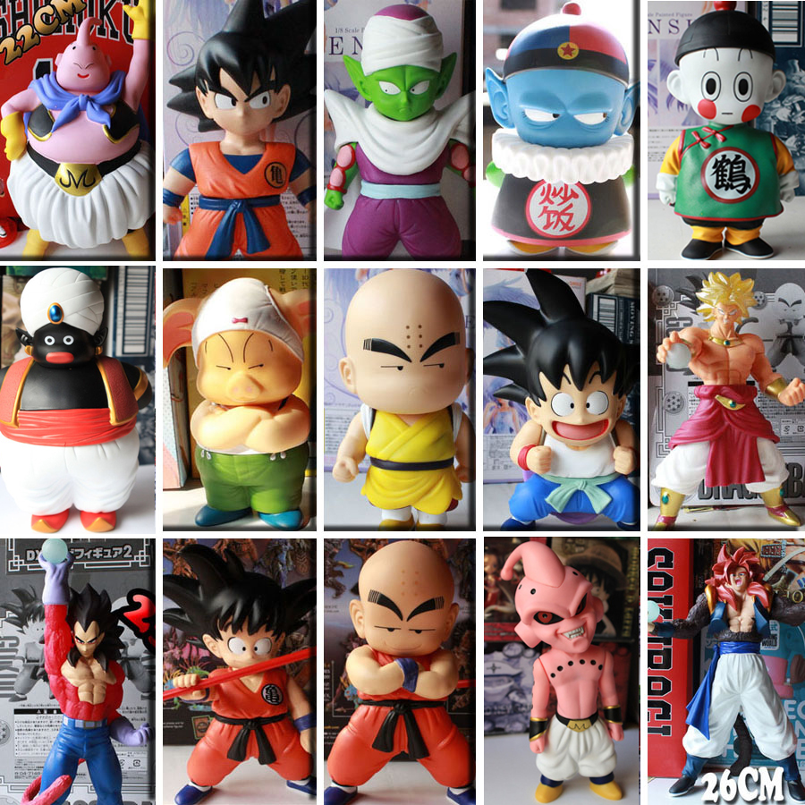 Bragon Ball Z Figures Toy Model Son Goku PVC Action Figure Toys Dragonball Children Kids ...