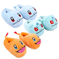 Monster Charmander Squirtle Bulbasaur Adult Plush Slippers Home Winter Slippers Plush Toys