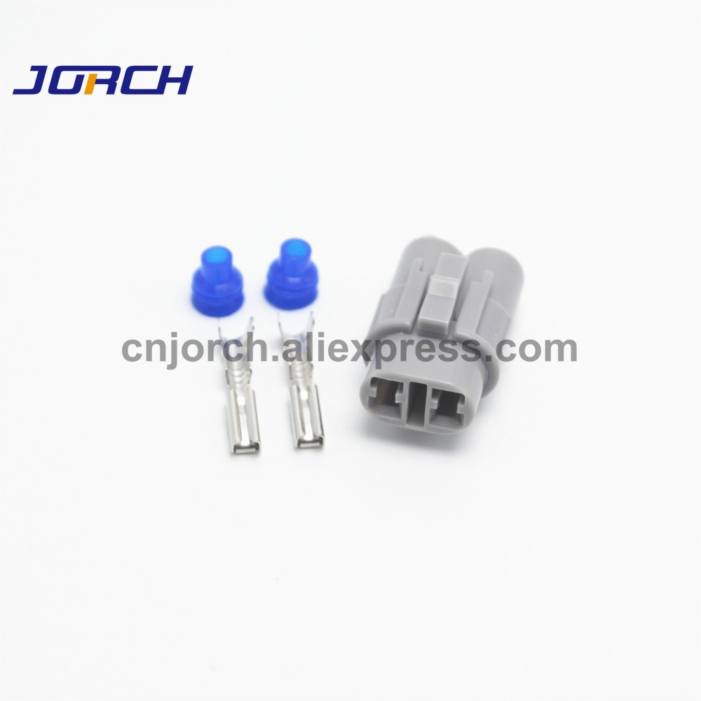 <font><b>2</b></font> <font><b>Pin</b></font> Sumitomo <font><b>2</b></font>,0mm Weibliche Kit MT Sealed Automotive Stecker Für <font><b>Honda</b></font> 6180-2321 image