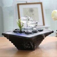 Фонтан офис Home Decor свадебный подарок украшения Керамика воды украшения