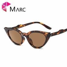 MARC UV400 2018 NEW WOMEN Design Sunglasses Oculos Fashion Classic Cat Eye Tortie Transparent Plastic Leopard