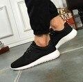 2016 Высокое Качество Новый Дизайн Спорт Мода Повседневная Мужчины Обувь Воздуха Mesh Повседневная Дышащей Обуви Размер EUR 36-44