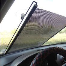 Retractable Car Windshield Visor Sun Shade Auto Front Rear Side Window Blinds Sun shades Anti UV Sunshades 125x58cm 40x60cm
