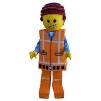 2017 Man Mascot Costume Doll Cartoon Character Cosplay Wholesale Made Carnival Costume Fancy Dress Mascot Costumes