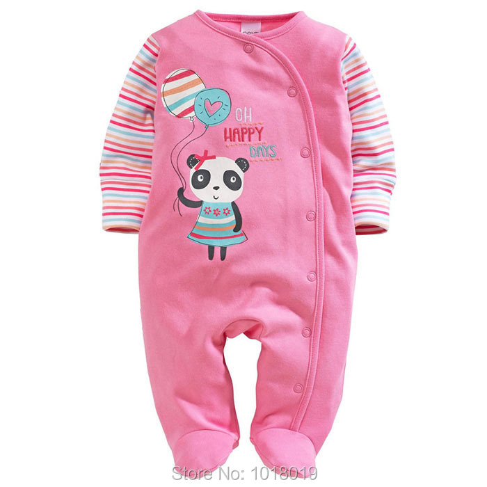 Branded New Quality Cotton Newborn Baby Girl Clothing Clothes Romper Creepers Jumpsuits Ropa Bebe Baby Girls Rompers Long Sleeve luxury good quality new fashion women zipper jumpsuit slim fit skinny jeans rompers pocket denim jumpsuits size sexy girl casual