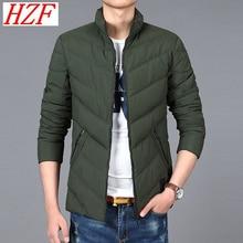 2017 Men winter Warm parkas Plus Size Warm Jacket Stand Zipper Coat Brand Casual Outwear Male Clothing 8XL Thick coat Big Size